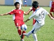 Football: Vietnam wins AFC U14 girls' regional championship