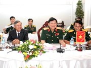 Vietnamese, Lao armies cement ties