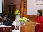 Conference highlights women's role in integration
