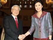 Vietnam, Thailand agree to establish strategic partnership