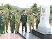 Vietnam-Laos border marker planting near completion