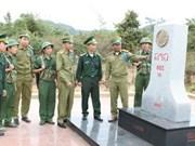 Vietnam-Laos border marker planting near completion