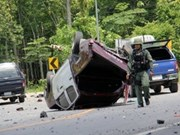 Thailand bombing leaves eight soldiers dead
