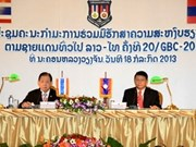 Laos, Thailand step up border security cooperation