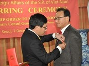 Vietnamese honorary consul general in Busan re-appointed