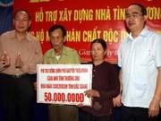 Deputy PM visits AO victim families