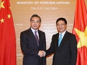 Chinese FM visits Vietnam to boost ties