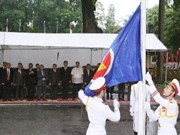 Vietnam hoists flag on ASEAN anniversary