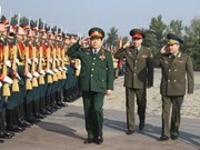 Vietnamese, Russian ministers talk defence cooperation