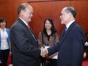 NA leader meets Thai legislators, Cuban diplomat