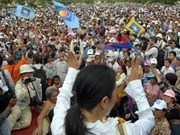 Cambodia parties solve election disagreements