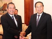 Lao President lauds ties with Vietnam's supreme court