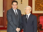 Cuban Ambassador bids farewell to Party Chief