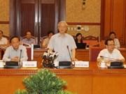 Party chief presses Kon Tum's economic development