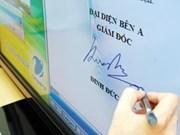 Decree advances digital signatures