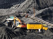 Coal production down