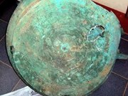 Ancient bronze drum discovered in Yen Bai