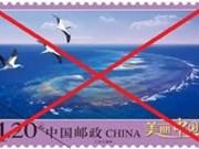China's stamps violate Vietnam's Hoang Sa island sovereignty