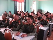 Dien Bien helps Lao localities train border officers
