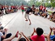 Hanoi festival promotes street art