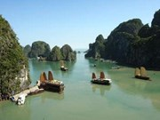 "Ha Long Bay, one of the ""world's most dramatic coasts"""