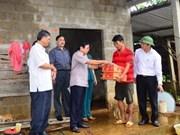 Vietnam calls help for storm victims