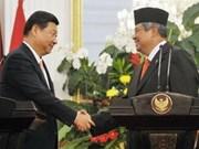 China, Indonesia lift ties to comprehensive