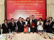Vietnam, Bulgaria enhance court cooperation