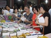 Autumn Book Fair opens in Hanoi