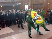 Mourners pay tribute to General Giap in HCM City, Quang Binh province