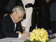 Top leaders heap praises on General Vo Nguyen Giap