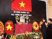 General Giap remembered around the world