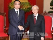 Party chief welcomes Chinese Premier