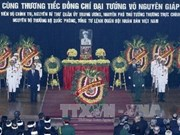 Hanoi ensures safety for General Giap's funeral