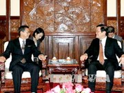 President Sang receives newly-appointed ambassadors