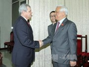 Vietnam, Cuba share experience in Constitution amendment