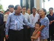 Deputy PM hails central localities for storm response