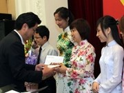 100 Japanese scholarships granted to Vietnamese students