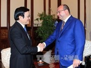 President welcomes ITAR-TASS general director