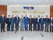 Vietnamese, Russian news agencies expand cooperation