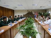 Vietnam, Cuba intensify defence cooperation