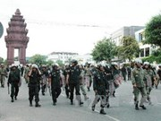 Cambodia mobilises thousands of police ahead of demonstration