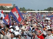 CNRP's first protest day ends without violence