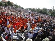 Cambodia: CNRP protest ends without violence