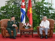 Vietnam eyes further defence ties with Cuba
