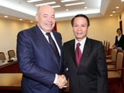 VNA leader, Russian Presidential Envoy discuss cooperation