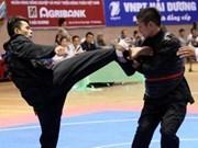 Hanoi triumphs at pencak silat championship