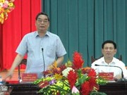 Party official: Nghe An must do all it can after storm