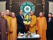 VFF vows support for Vietnam Buddhist Sangha
