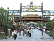 Hue relic complex serves 1.6 million visitors in ten months
